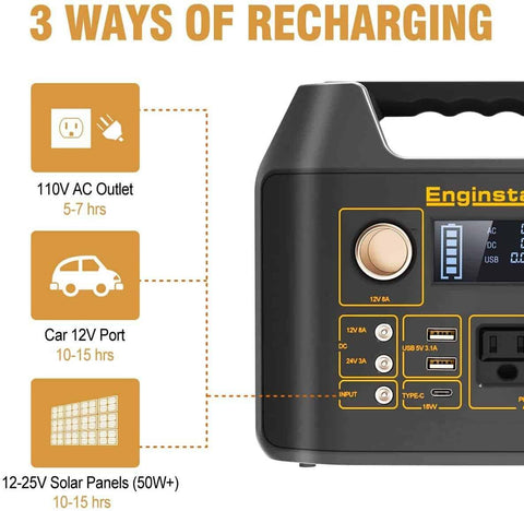 Enginstar 300 Watt Portable Power Bank