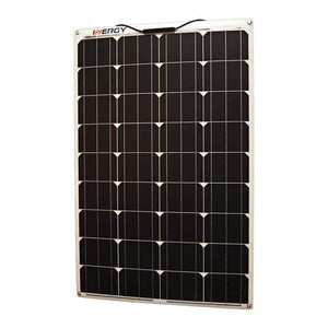 inergy linx 100w semi flexible monocrystalline solar panel