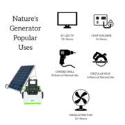 Nature's Generator Gold System Power bank solar charger