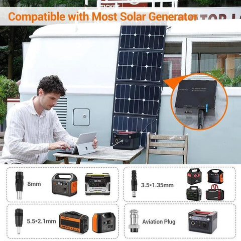 Image of Rockpals 80W Foldable Solar Panel - The Eco Store