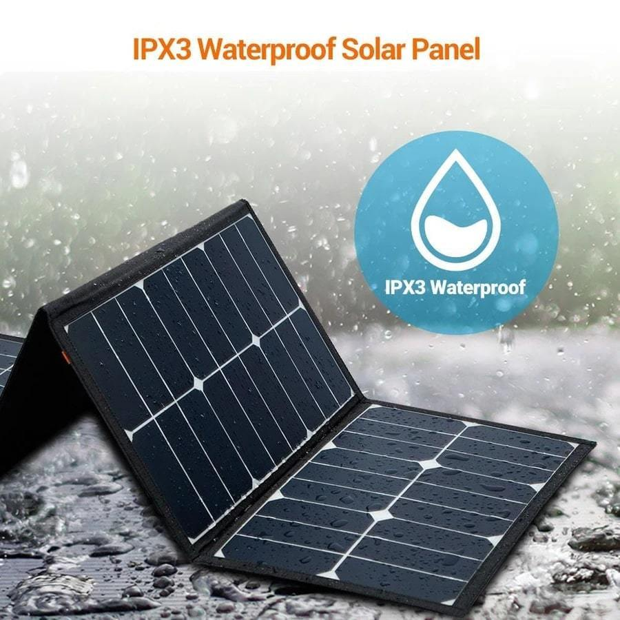 Rockpals 80W Foldable Solar Panel - The Eco Store