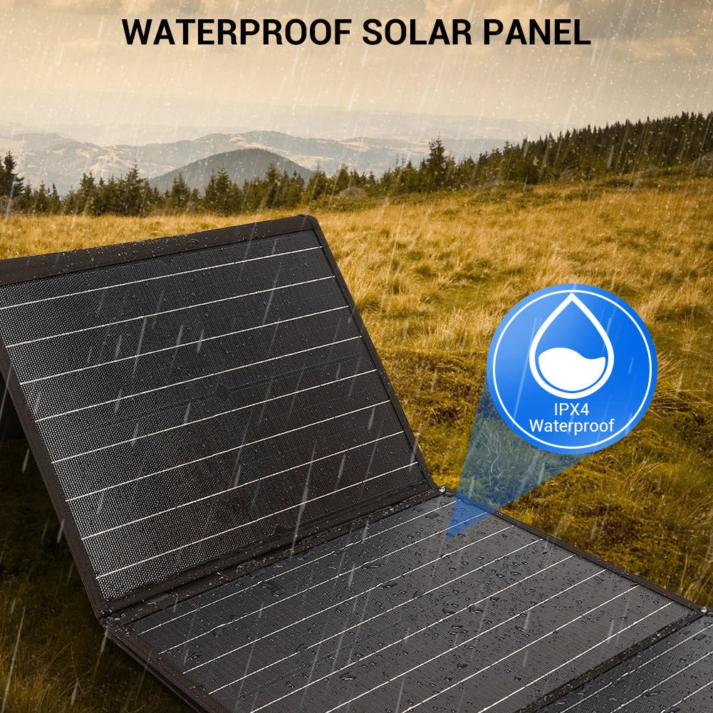 Rockpals 100W Foldable Solar Panel 02