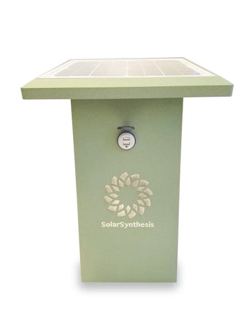SolarSynthesis SuperCharge35 Charging Station Weathered Bronze