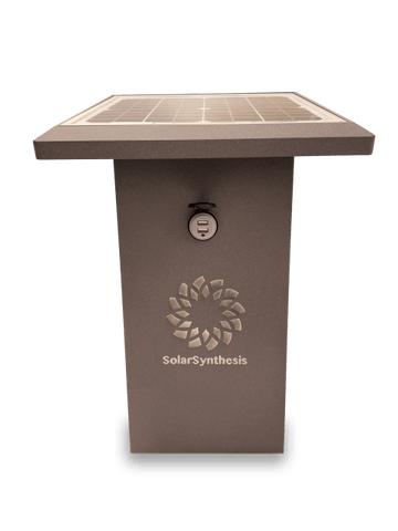 SolarSynthesis SuperCharge35 Charging Station Brown