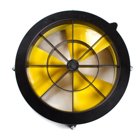 Image of WaterLily Water Turbine River Power Back View