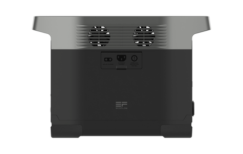 Image of EcoFlow Delta 1300 Portable Power Station Side View