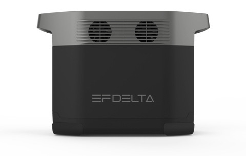 EcoFlow Delta 1300 Portable Power Station Side View