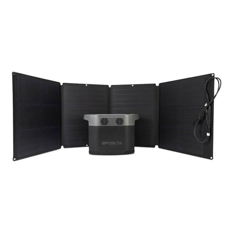Image of EcoFlow Delta 1300 + 110W Solar Panel Bundle