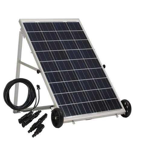 Image of Nature's Generator Power Solar Panel 50 ft cable mc4 branch connector kit