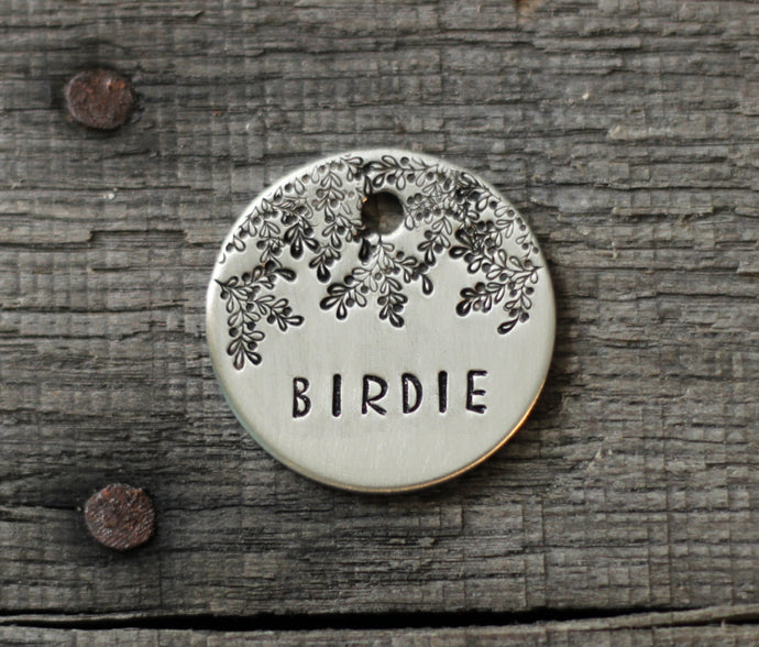 Personalized pet id tag - Berries