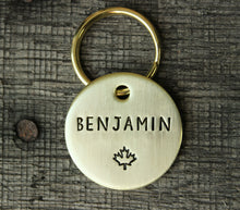 Load image into Gallery viewer, Personalized pet id tag - Maple