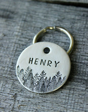 Load image into Gallery viewer, Personalized pet id tag - Forest