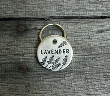 Load image into Gallery viewer, Personalized pet id tag - Lavender