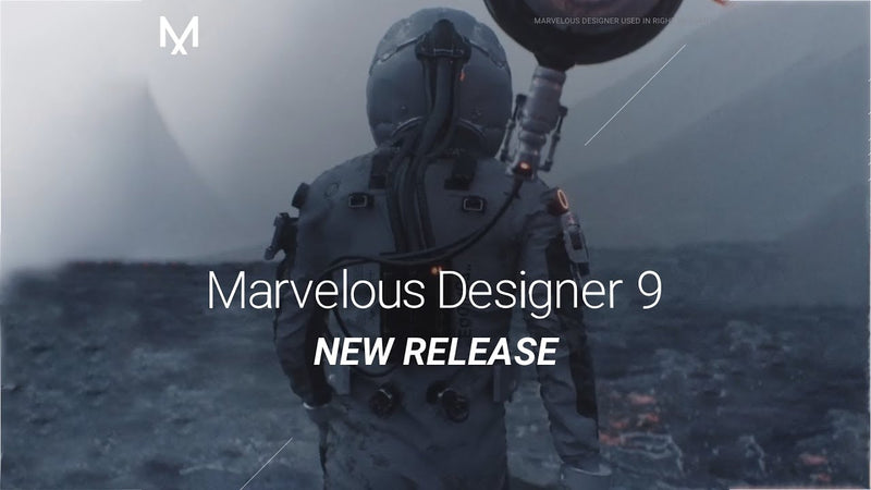 Mavelous Designer 9 Released