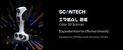 Introducing ScanTech's iReal 2E Color 3D SCanner