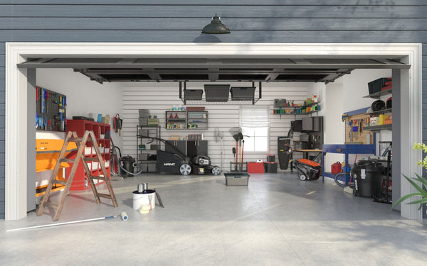 Pre-order Archmodels Vol. 222: 44 High Quality 3D Models of Garage and Garden Tools and Organizers