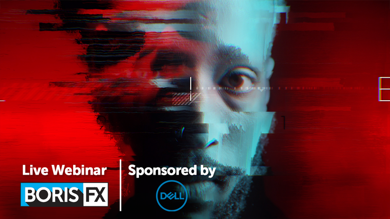 Boris FX Hosting Training Event This Thursday: Title Sequence Design with Sapphire