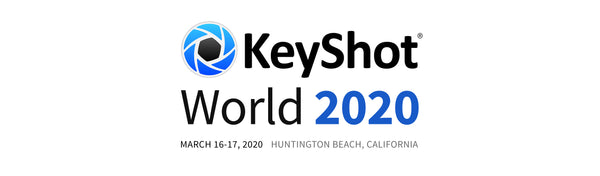 KeyShot World 2020 coming to Huntington Beach, CA