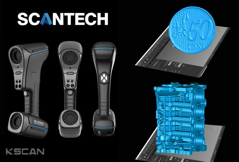 Scantech IRealS and KScan20 Handheld 3D Scanner Special Offer from CG River! Limisted Time Sales Event, Promo / Discount Code Available at Checkout