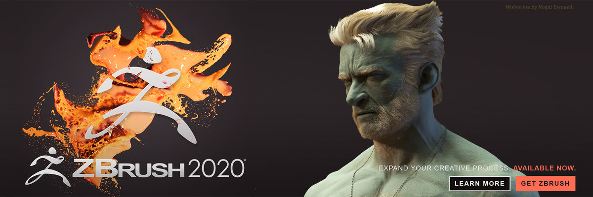ZBrush 2020 Special Offer from CG River! Limisted Time Sales Event, Promo / Discount Code Available at Checkout