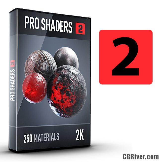 Pro Shaders 2 for Element 3D and Cinema 4D