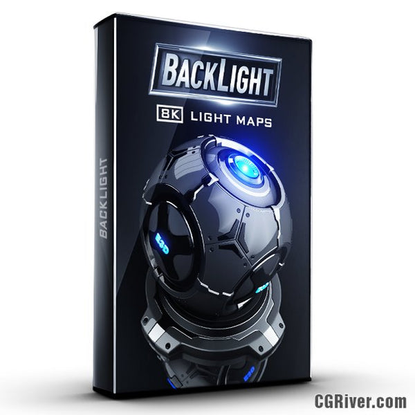 BackLight: 8K Environments & Light Maps