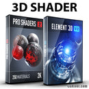 3D Shader Bundle: Element 3D + Pro Shaders 2