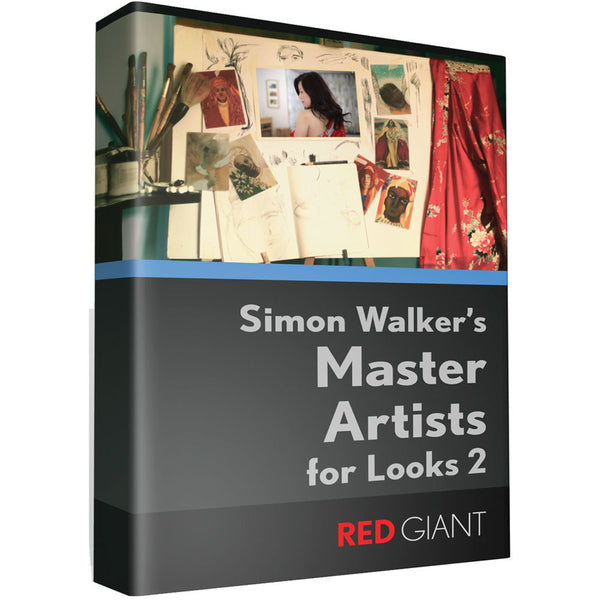 Red Giant Master Artists Looks for Magic Bullet Looks