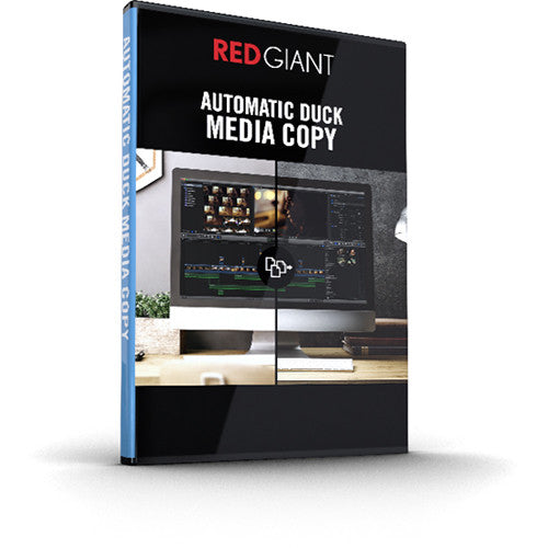 Red Giant Automatic Duck Media Copy
