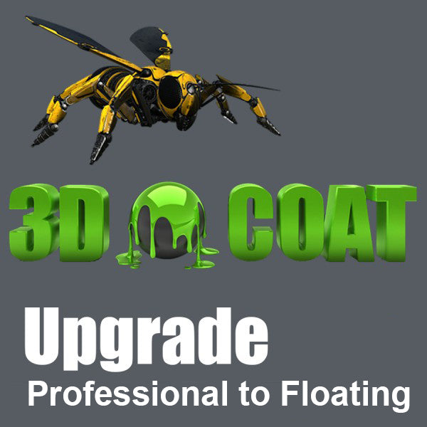 3D-Coat 4.9 - Professional to Floating License