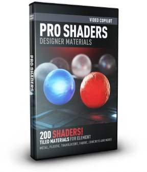 Pro Shaders for Element 3D and Cinema 4D