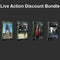 Live Action Discount Bundle - Eat3D Video Tutorials