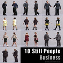 BUSINESS PEOPLE- 10 STILL MODELS (MeBuS0002)