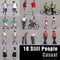 CASUAL PEOPLE- 10 STILL MODELS (MeCaS0005)