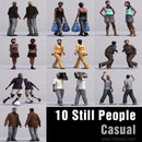 CASUAL PEOPLE- 10 STILL MODELS (MeCaS0006)