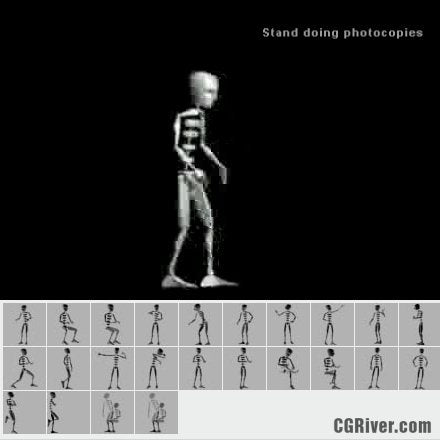 25 Professional 3ds Max Motion Capture Files - emo0002cs