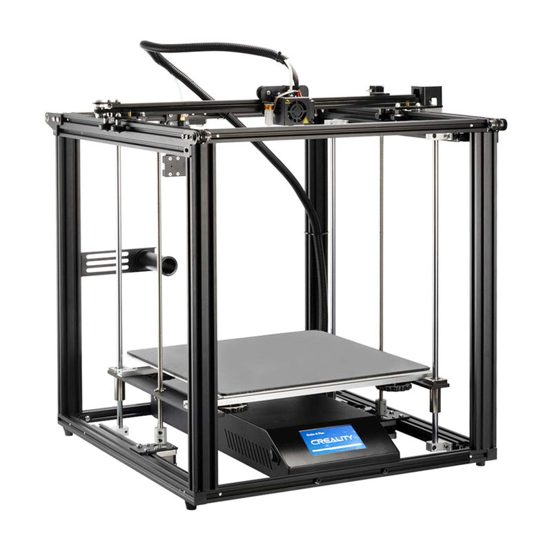 Creality Ender 5 Plus 3D Printer With Touch Screen + MEAN WELL RSP-500-24 Power Supply Included ($91.20 Value)