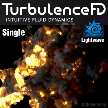 TurbulenceFD for LightWave 3D - Single User