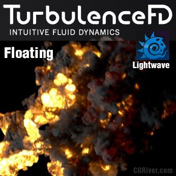 TurbulenceFD for LightWave 3D - Floating