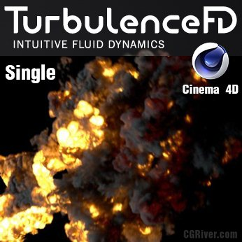TurbulenceFD for Cinema 4D - Single User
