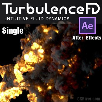Turbulence2D for After Effects - Single User