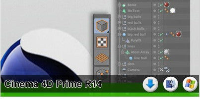 CINEMA 4D Prime R14 DVD Version