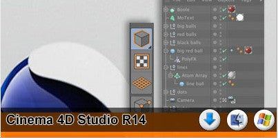 CINEMA 4D Studio R14 DVD Version