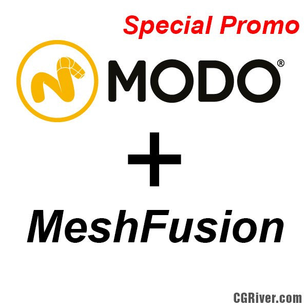Special Bundle: Modo 801 + MeshFusion - The Foundry