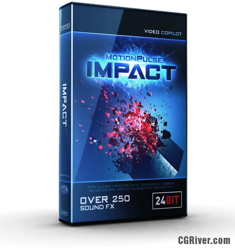 MotionPulse IMPACT by Video Copilot - Sound Design Tools for Motion Graphics (Over 250 Sound FX)