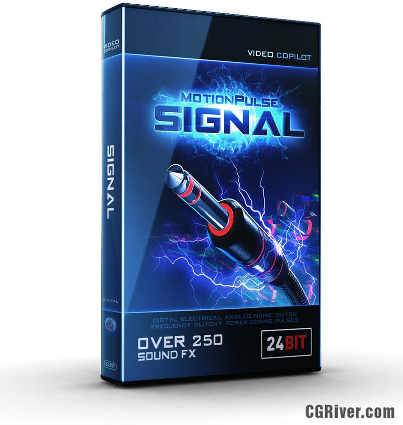 MotionPulse SIGNAL by Video Copilot - Sound Design Tools for Motion Graphics (Over 250 Sound FX)