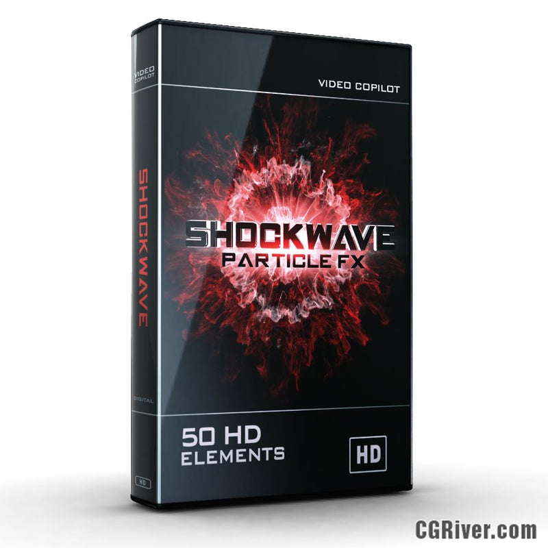 SHOCKWAVE from Video Copilot - Advanced Particle Animations