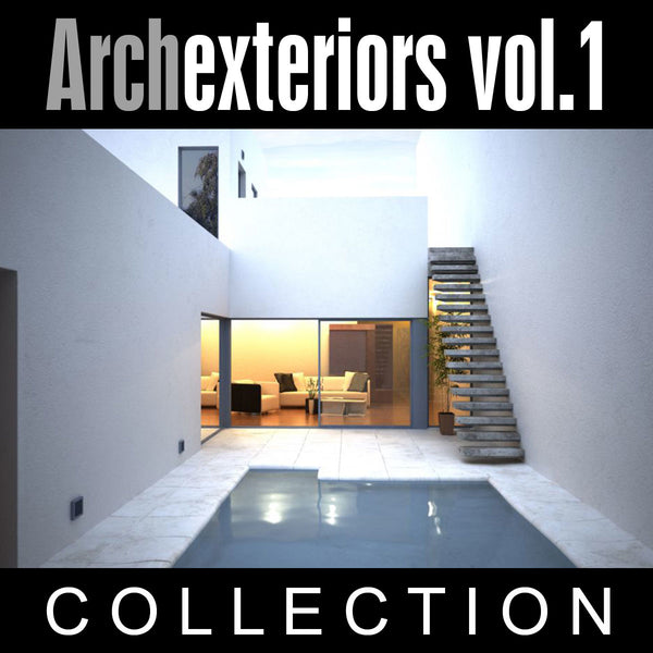 Archexteriors vol. 1 (Evermotion 3D Models) - Architectural Visualizations