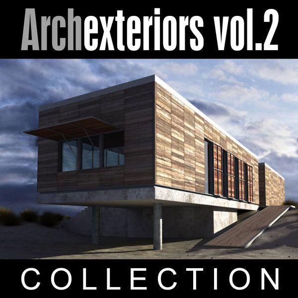 Archexteriors vol. 2 (Evermotion 3D Models) - Architectural Visualizations