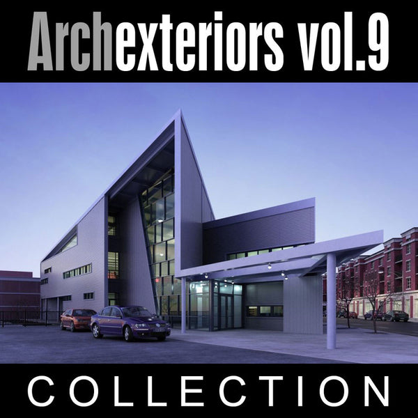 Archexteriors vol. 9 (Evermotion 3D Models) - Architectural Visualizations